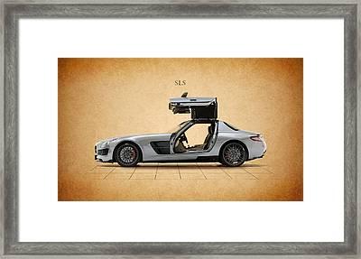 Mercedes Benz Sls Framed Print