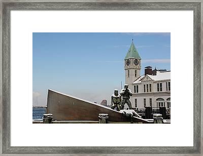 Merchant Mariners' Memorial Framed Print