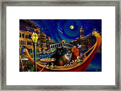 Merchants Of Venice Framed Print