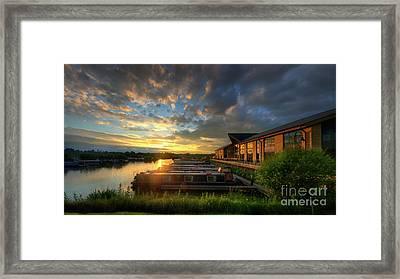 Framed Print featuring the photograph Mercia Marina 10.0 by Yhun Suarez