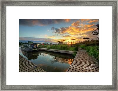 Framed Print featuring the photograph Mercia Marina 13.0 by Yhun Suarez