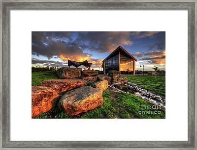 Framed Print featuring the photograph Mercia Marina 15.0 by Yhun Suarez