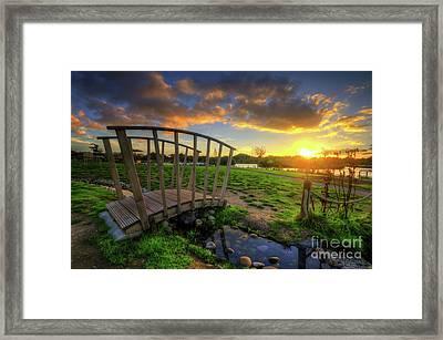 Framed Print featuring the photograph Mercia Marina 16.0 by Yhun Suarez
