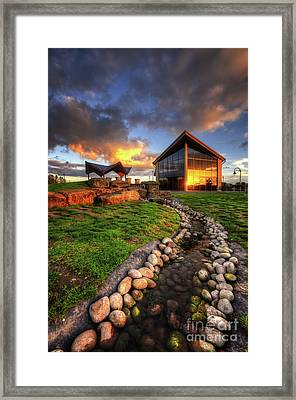 Framed Print featuring the photograph Mercia Marina 17.0 by Yhun Suarez
