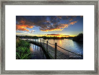 Framed Print featuring the photograph Mercia Marina 18.0 by Yhun Suarez