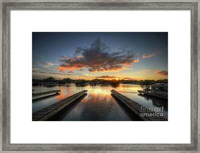 Framed Print featuring the photograph Mercia Marina 19.0 by Yhun Suarez