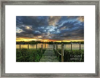 Mercia Marina 21.0 Framed Print