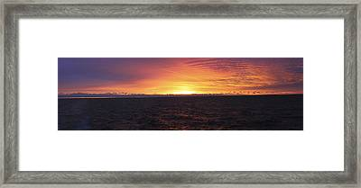 Mercury And Solace Framed Print