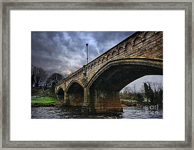 Mercury Bridge, Richmond Framed Print