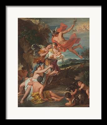 Roman Godess Framed Prints