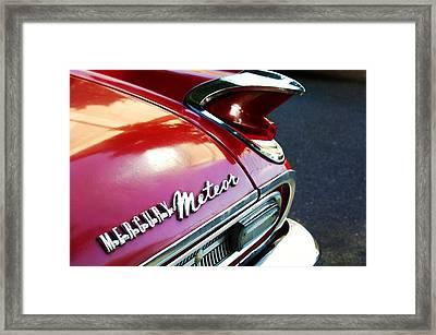 Mercury Meteor Framed Print by Cathie Tyler