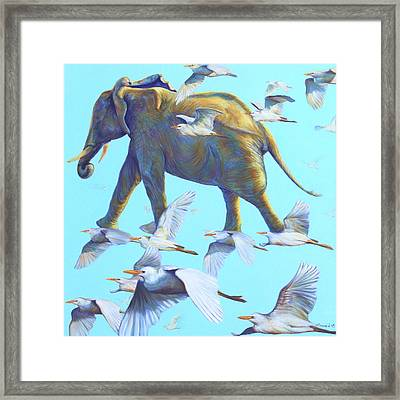 Mercury Framed Print by Sarah Soward