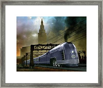 Mercury Train Framed Print