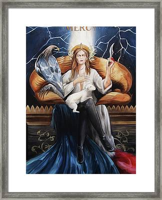 Mercy Framed Print by Jacque Hudson