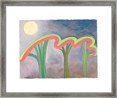 Mercy Nights Framed Print by Nancy Brockett