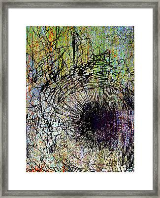 Framed Print featuring the mixed media Mercy by Tony Rubino