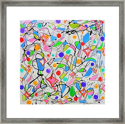 Merengue En Dominica Framed Print by David Mintz