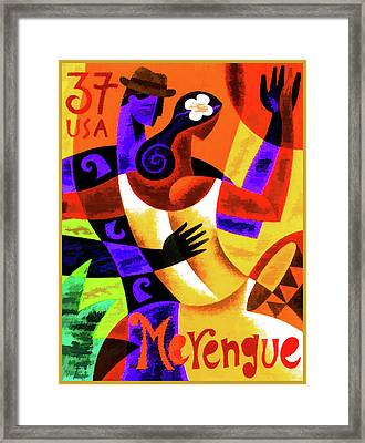 Merengue Framed Print by Lanjee Chee