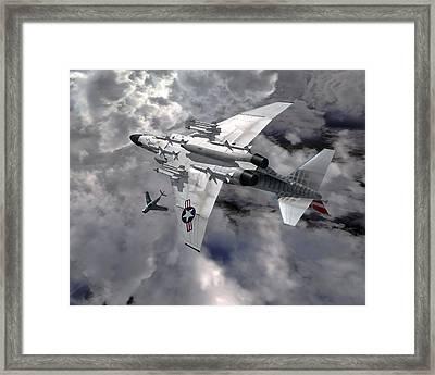 Merge Framed Print