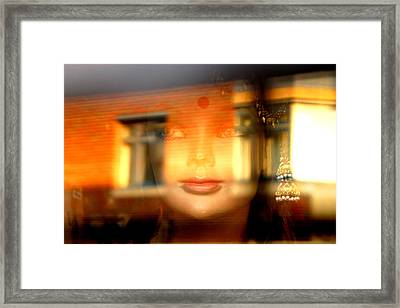 Merging Into Your World Framed Print by Jez C Self