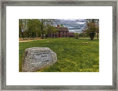 Meriams Corner, Minute Man National Park Framed Print