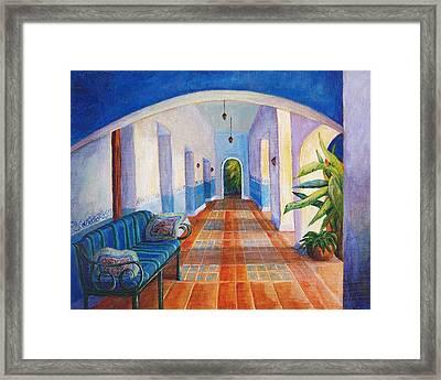 Merida Morning Framed Print by Candy Mayer