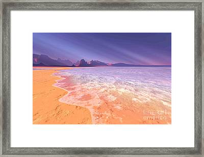 Meridian Framed Print by Corey Ford