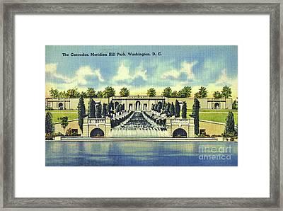 Meridian Hill Park Framed Print