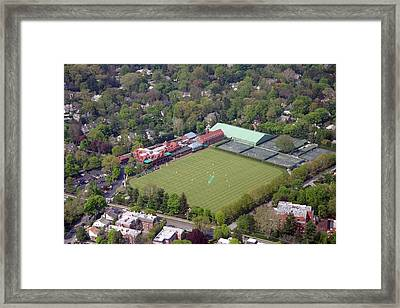 Merion Cricket Club Cricket Festival Framed Print by Duncan Pearson