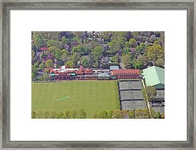 Merion Cricket Club Philadelphia Cricket Club Framed Print by Duncan Pearson