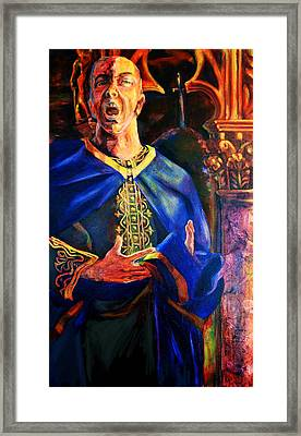 Merlin Framed Print by David Matthews