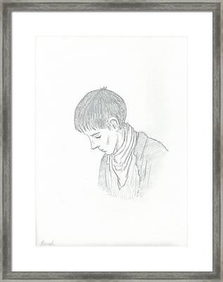 Merlin Fanart Framed Print