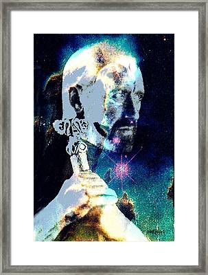 Merlin In The Cosmos Framed Print by Seth Weaver