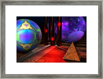 Merlin's Playground Framed Print