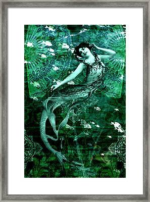 Mermaid 3a Framed Print