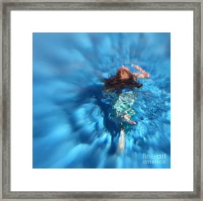 Mermaid Caroline Framed Print