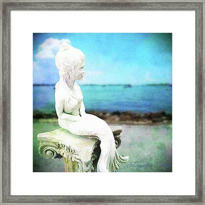 Mermaid Lisa Framed Print