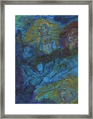 Mermaid Musings Framed Print by Cathy Minerva