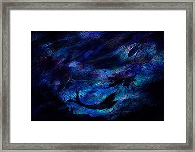 Mermaid Framed Print by Rachel Christine Nowicki