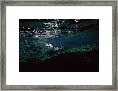 Mermaid Route Framed Print