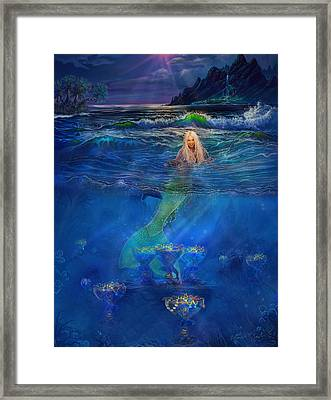 Mermaid Framed Print by Steve Roberts