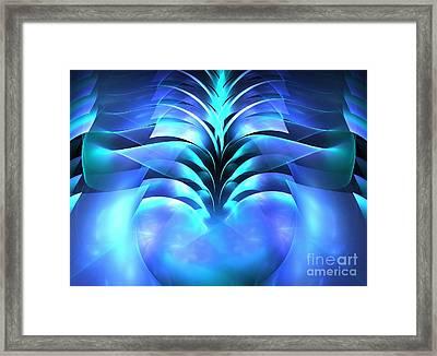 Mermaid Tail Framed Print by Kim Sy Ok