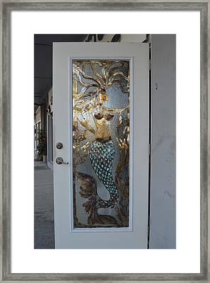Mermaiden Framed Print