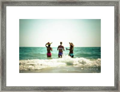 Framed Print featuring the photograph Mermaids by Hannes Cmarits