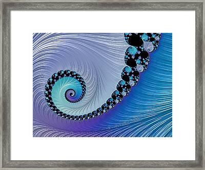 Mermaid's Jewel Framed Print by Susan Maxwell Schmidt