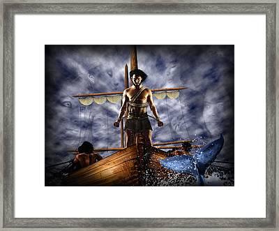 Mermaids Singing Framed Print by Alessandro Della Pietra