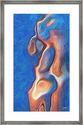 Merman Framed Print