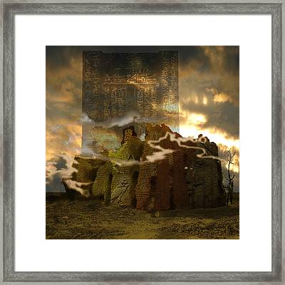 Meroe Lost Framed Print by Amy Williams