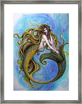 Merr Framed Print by Caroline Czelatko