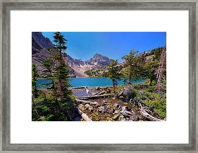 Merriam Lake Framed Print